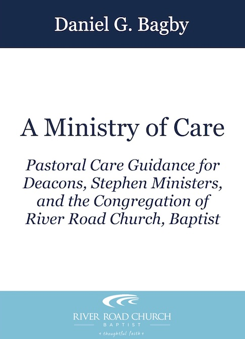A Ministry of Care (AKA: Those Famous Bagby Handouts!)