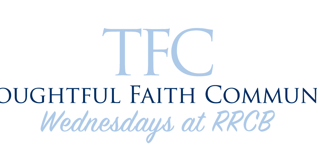 "TFC: Winter Bible Study with Dr. Lynne Caldwell: ""So what? Luke 18"""