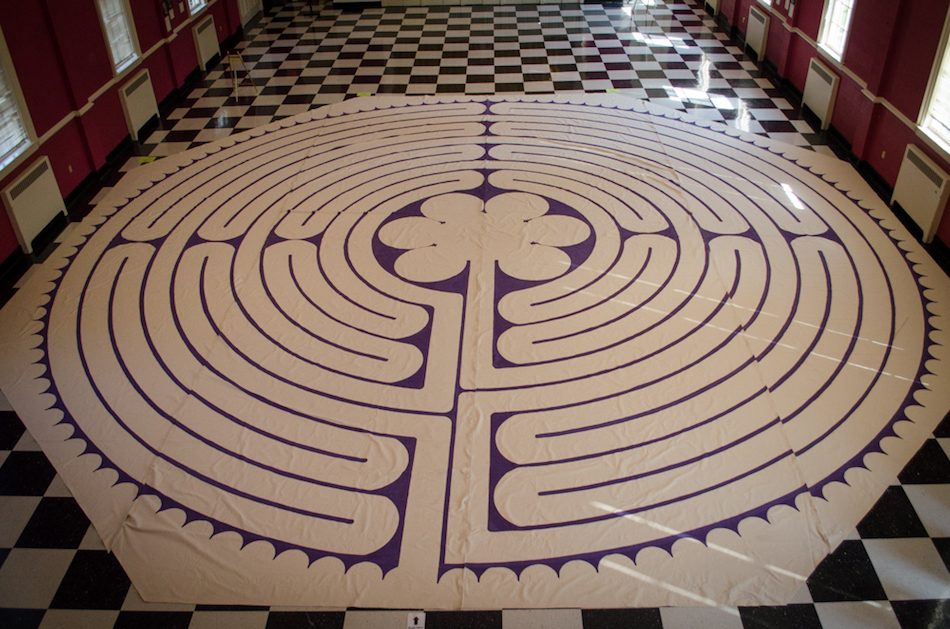 New Year's Labyrinth Walk & Personal Meditation 2017