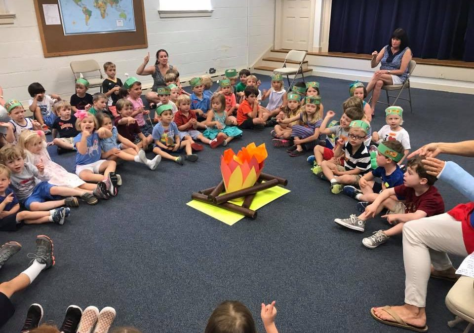 Summer Camp at River Road Preschool 2017