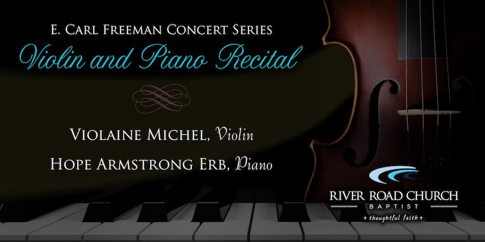 Concert Series: Violin & Piano Recital