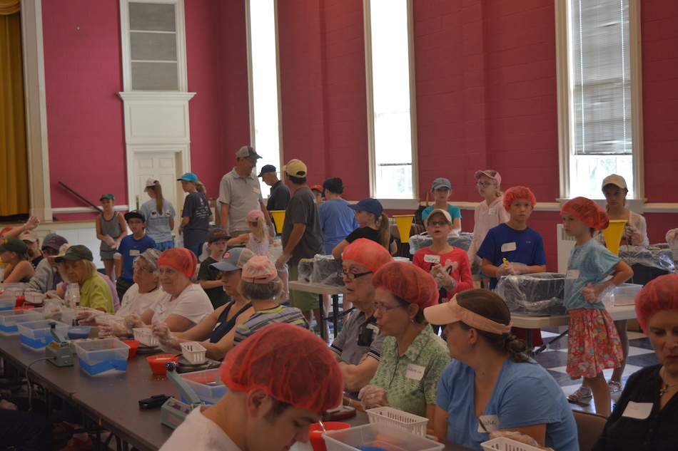 Rise Against Hunger Meal Packing Event
