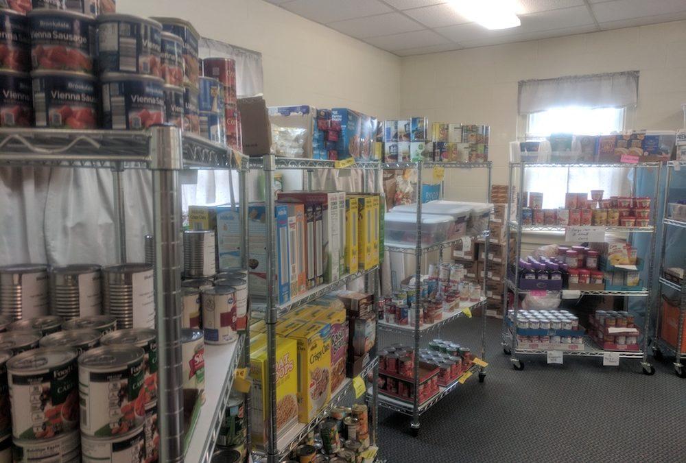 Working Together: Welborne UMC Food Pantry