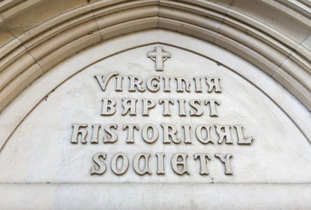Virginia Baptist Historical Society 2018 Annual Meeting