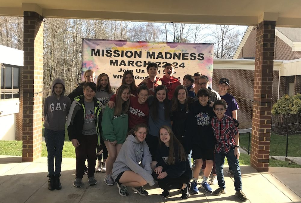 Youth March Mission Madness