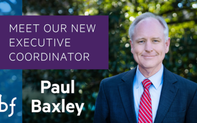 Paul Baxley, CBF Executive Coordinator, Visits RRCB