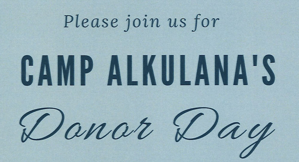Camp Alkulana Donor Day 2019