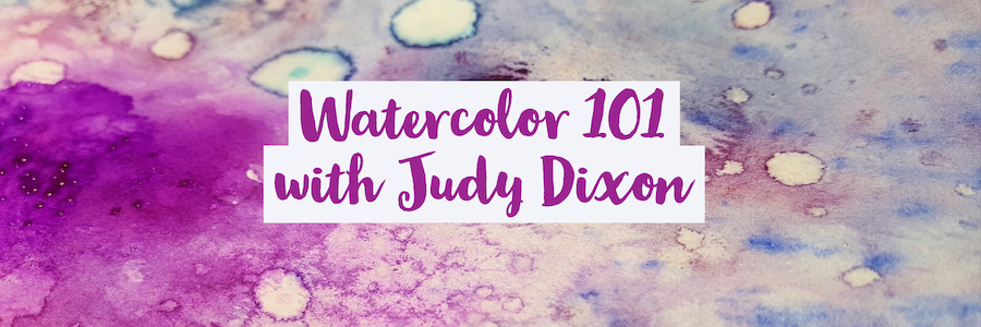 Watercolor 101 – Fall 2019