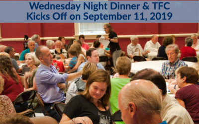 Wednesday Night Dinner & Fall 2019 Standing Reservations