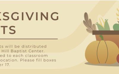 Thanksgiving Baskets 2019