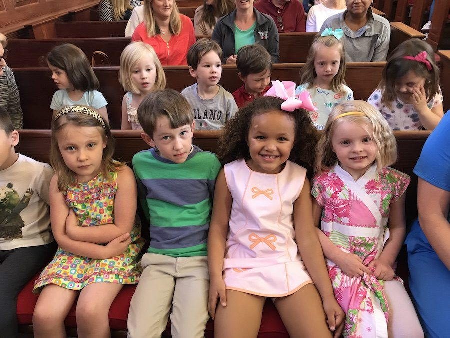 Join Us for Preschool Chapel
