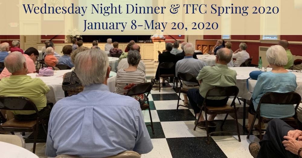 Thoughtful Faith Community – Spring 2020