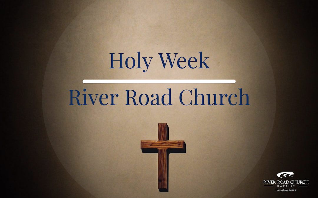 Holy Week at RRCB – April 2, 2020