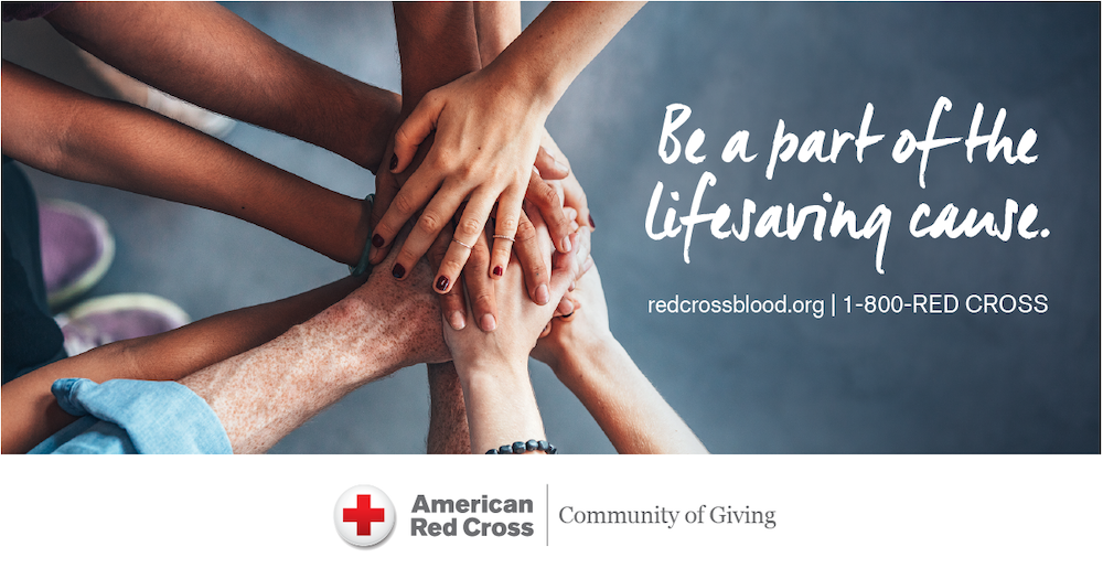 American Red Cross Blood Drive – August 12, 2020