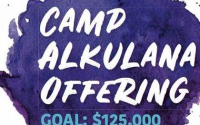2020 Camp Alkulana Offering