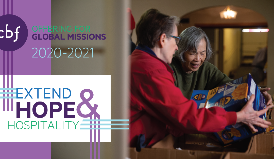 CBF Global Missions Offering 2020