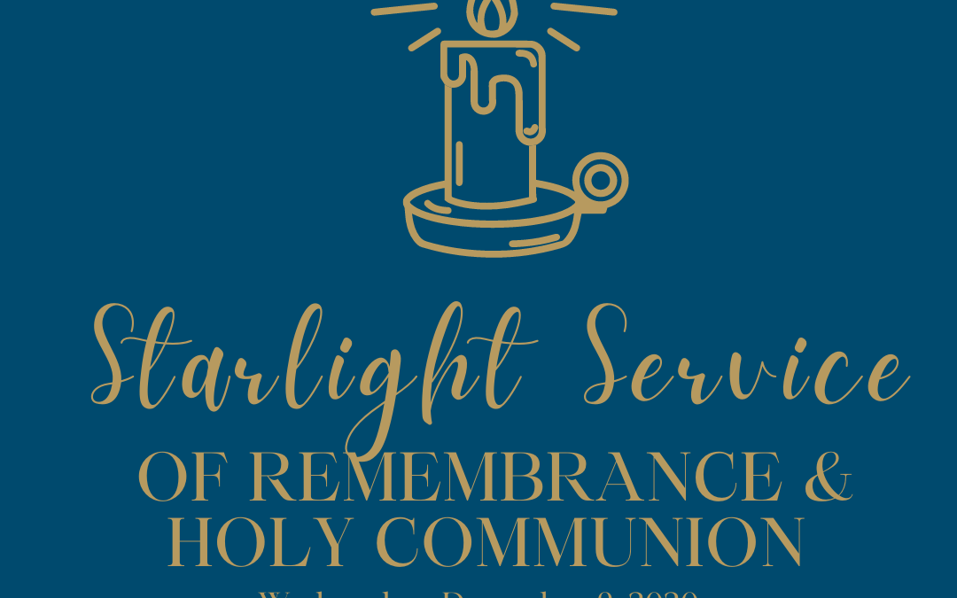Starlight Service of Remembrance & Holy Communion and Reflection Group