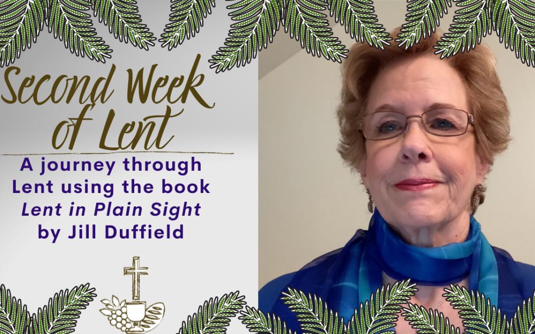 Lent in Plain Sight: Cross