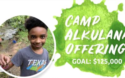 Camp Alkulana Offering 2021