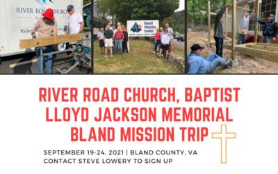 Lloyd Jackson Memorial Bland Mission Trip 2021