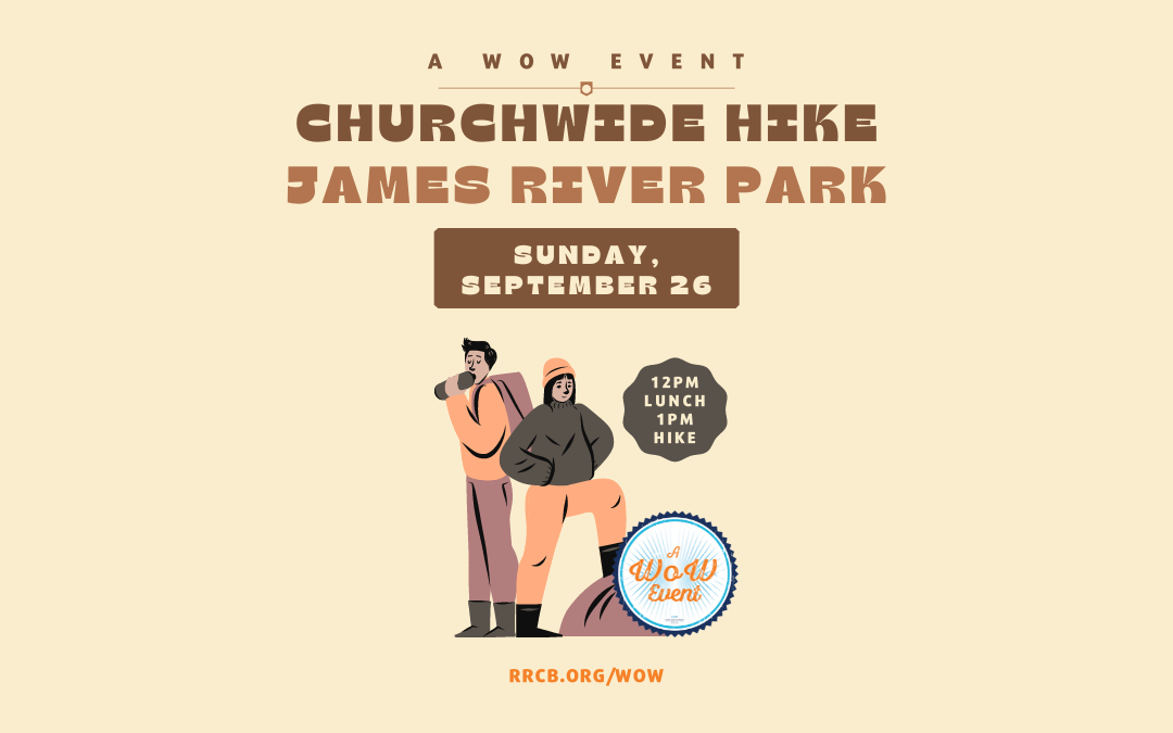 A WOW Event: Churchwide Hike – September 26, 2021